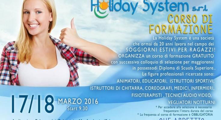 Il 17 e 18 marzo selezioni personale per soggiorni estivi per ragazzi