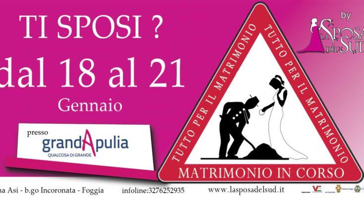 Matrimonio In Corso : Al grandapulia un tuffo nel regno del 'sì