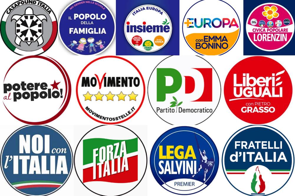 Camera e senato i candidati nei collegi uninominali e for Lista politici italiani